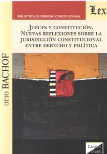 JUECES Y CONSTITUCIÓN