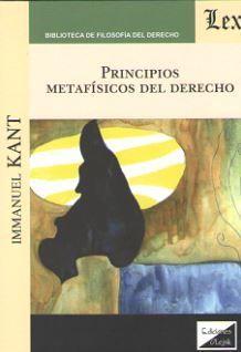 PRINCIPIOS METAFÍSICOS DEL DERECHO