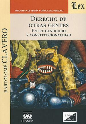 DERECHO DE OTRAS GENTES