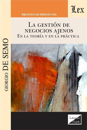 GESTION DE NEGOCIOS AJENOS, LA