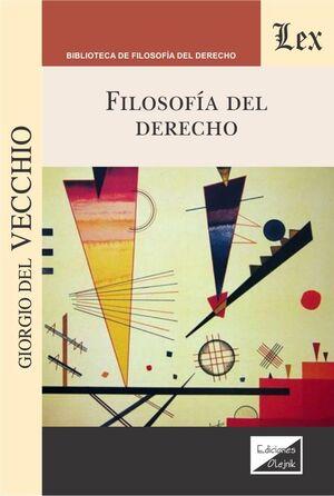 FILOSOFIÍA DEL DERECHO