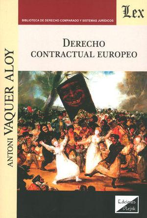 DERECHO CONTRACTUAL EUROPEO