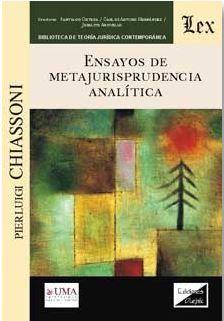 ENSAYOS DE METAJURISPRUDENCIA ANALÍTICA