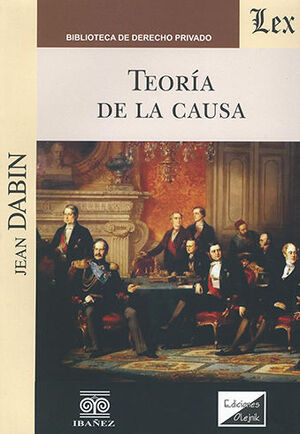 TEORÍA DE LA CAUSA