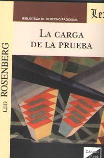 CARGA DE LA PRUEBA, LA