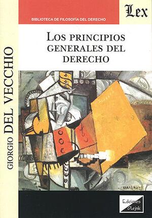 PRINCIPIOS GENERALES DEL DERECHO, LOS (2018)