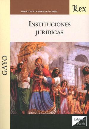 INSTITUCIONES JURIDICAS