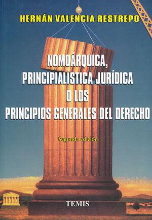 NOMOÁRQUICA, PRINCIPIALÍSTICA JURÍDICA O LOS PRINCIPIOS GENERALES DEL DERECHO - 2.ª ED.