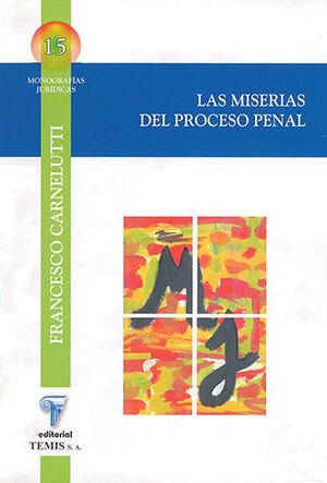 MISERIAS DEL PROCESO PENAL, LAS