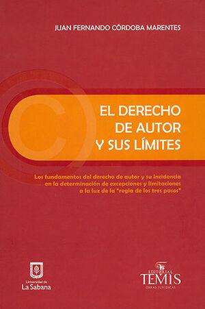 DERECHO DE AUTOR Y SUS LIMITES