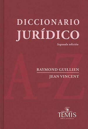 DICCIONARIO JURÍDICO. SEGUNDA EDICIÓN