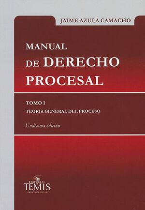 MANUAL DE DERECHO PROCESAL - TOMO I - TEORÍA GENERAL DEL PROCESO