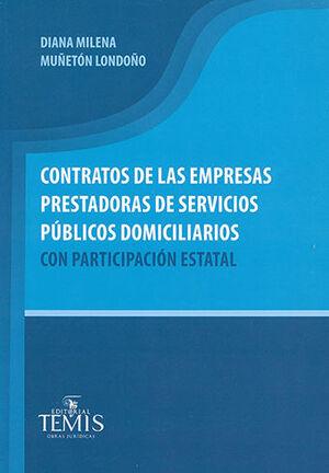 CONTRATOS DE LAS EMPRESAS PRESTADORAS DE SERVICIOS PÚBLICOS DOMICILIARIOS CON PARTICIPACIÓN ESTATAL