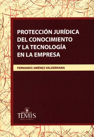 PROTECCIÓN JURÍDICA DEL CONOCIMIENTO Y LA TECNOLOGÍA EN LA EMPRESA