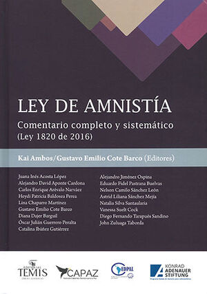 LEY DE AMNISTÍA