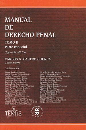 MANUAL DE DERECHO PENAL - 2.ª ED. TOMO II