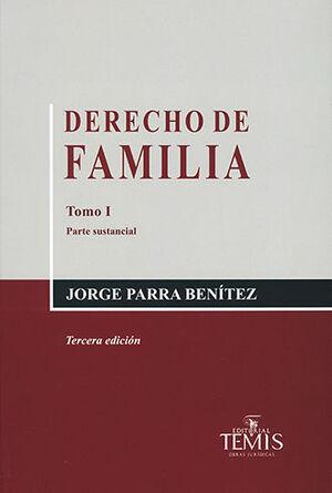 DERECHO DE FAMILIA - 2 TOMOS 3.ª ED.