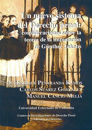 UN NUEVO SISTEMA DEL DERECHO PENAL -COLECCION DE ESTUDIOS #15