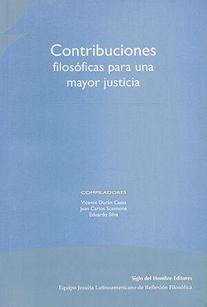 CONTRIBUCIONES FILOSÓFICAS PARA UNA MAYOR JUSTICIA