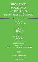 ABOGADOS, SOCIEDAD Y DERECHO DE INTERES PUBLICO