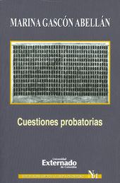 CUESTIONES PROBATORIAS