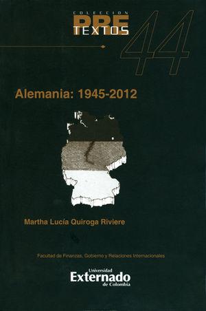 ALEMANIA 1945-2012