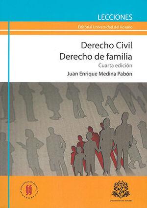 DERECHO CIVIL DERECHO DE FAMILIA - 4.ª ED.