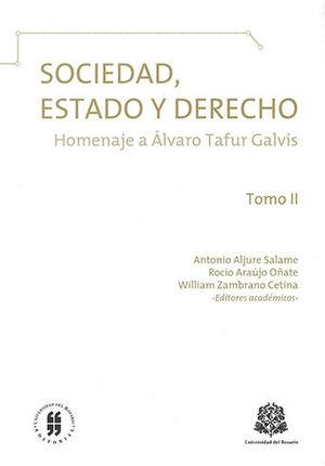 SOCIEDAD ESTADO Y DERECHO - TOMO II