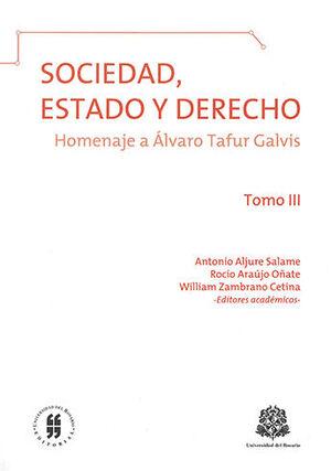 SOCIEDAD ESTADO Y DERECHO - TOMO III