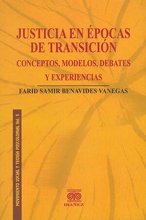 JUSTICIA EN EPOCAS DE TRANSICIÓN