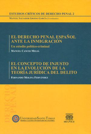ESTUDIOS CRÍTICOS DE DERECHO PENAL 2