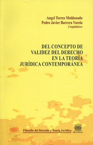 DEL CONCEPTO DE VALIDEZ DEL DERECHO