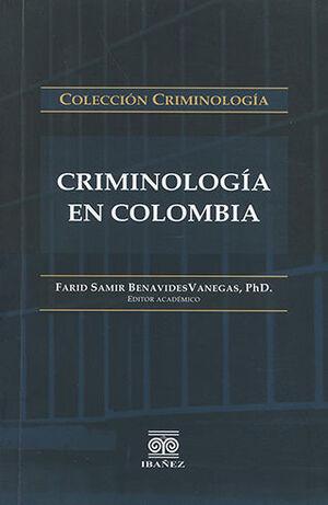 CRIMINOLOGÍA EN COLOMBIA