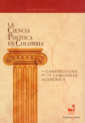 CIENCIA POLÍTICA EN COLOMBIA, LA