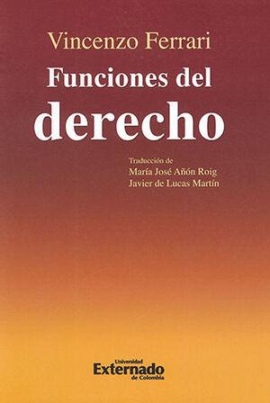 FUNCIONES DEL DERECHO