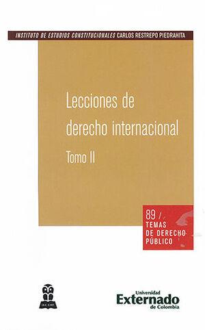LECCIONES DE DERECHO INTERNACIONAL TOMO II