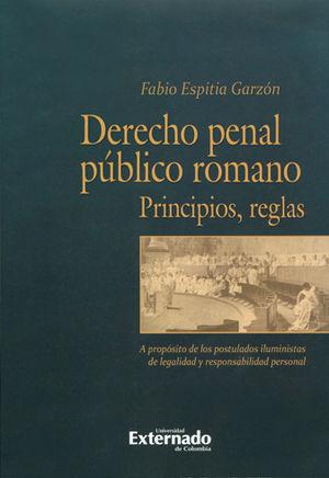 DERECHO PENAL PÚBLICO ROMANO.