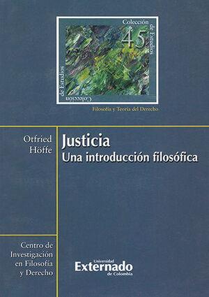 JUSTICIA UNA INTRODUCCION FILOSOFICA