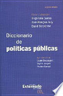 DICCIONARIO DE POLÍTICAS PÚBLICAS. SEGUNDA EDICIÓN
