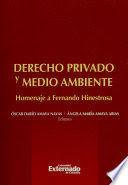 DERECHO PRIVADO Y MEDIO AMBIENTE