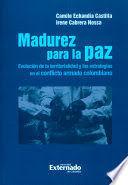MADUREZ PARA LA PAZ