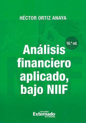 ANALISIS FINANCIERO APLICADO 16ª EDICION BAJO NORMAS NIIF