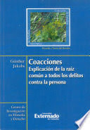 COACCIONES. EXPLICACIÓN DE LA RAÍZ COMÚN A TODOS