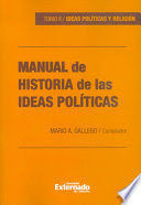 MANUAL DE HISTORIA (II) DE LAS IDEAS POLITICAS