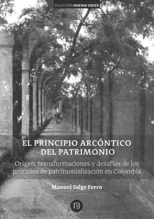 PRINCIPIO ARCÓNTICO DEL PATRIMONIO, EL