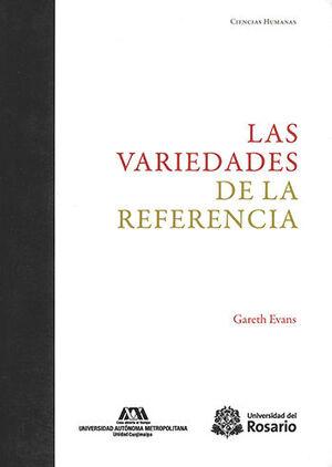 VARIEDADES DE LA REFERENCIA, LAS