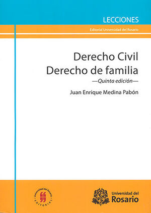 DERECHO CIVIL DERECHO DE FAMILIA -  5.ª ED.