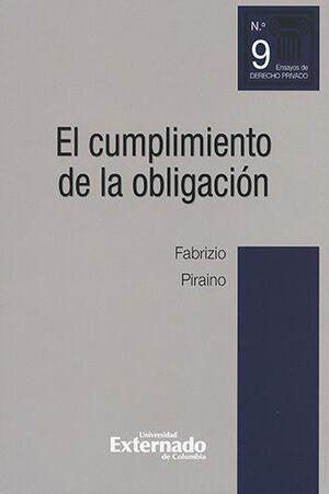 CUMPLIMIENTO DE LA OBLIGACIÓN, EL