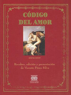 CÓDIGO DEL AMOR - 2.ª ED.