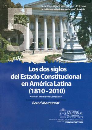 DOS SIGLOS DEL ESTADO CONSTITUCIONAL EN AMÉRICA LATINA, LOS (1810-2010) # 5